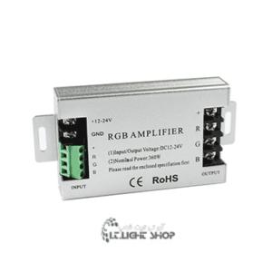 آمپلی فایر آر جی بی 12ولت 30 آمپر 300x300 - 30 آمپر فلزی RGB Amplifire