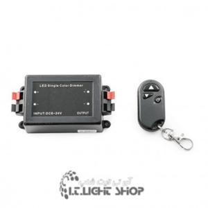 دیمر 30 آمپر تک رنگ 3 دکمه بدنه فلزی RF