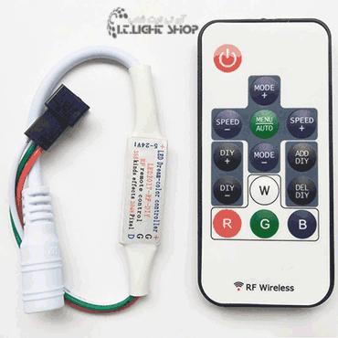 مینی کنترلر آر جی بی پیکسل رادیویی 14 کلیدی 24-5ولت