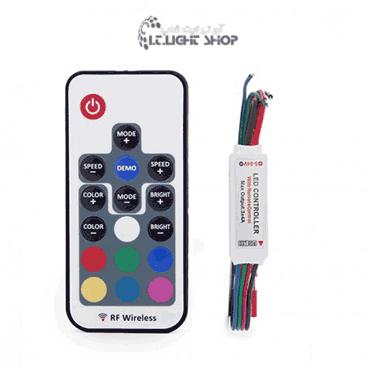 مینی کنترلر آر جی بی 12 ولت 6 آمپر رادیویی 1 - MINI کنترلر  RGB