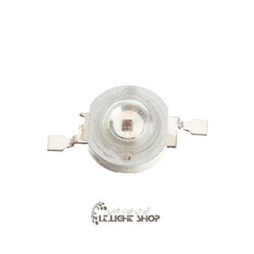 پاور LED یک وات 30 میلیمتر قرمز(625-620 نانومتر)