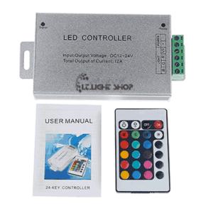 controler rgb 12V 12A 24key IRON 300x300 - کنترلر RGB دوازده ولت 12آمپر 24کلید فلزی