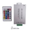 کنترلر RGB دوازده ولت 24آمپر 24کلید فلزی