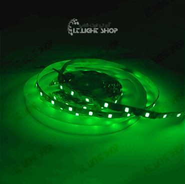 led navari 2835 12v ip20 green slight 60 led - LED  نواری 12ولت IP20 2835 سبز (slight(60LED
