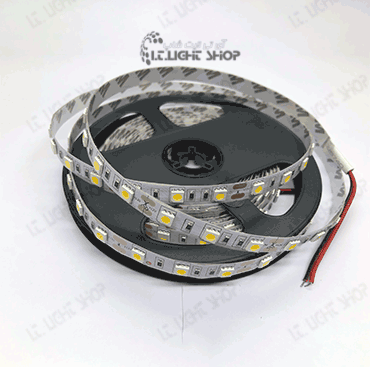 led navari 5050 12v ip20 warm white 60 led - LED  نواری 12ولت IP20 5050 سفید