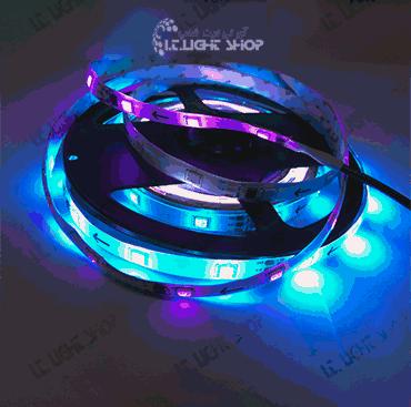 led navari 5050 Rgb I.C ip65 30 led بدون درایو 1 - LED  نواری 12 ولت  RGB I.C