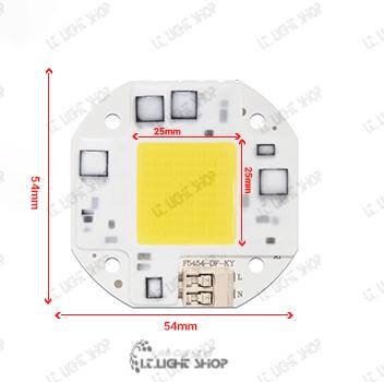 220 ولت LED COB مربع 30 وات