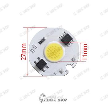 سی او بی 220 ولت گرد - 220 ولت LED COB گرد
