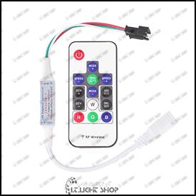 مینی کنترلر RGB پیکسل  ICدار 14 کلید بدون قفل  RF
