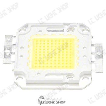 پلور ال ای دی 100 وات سفید معمولی 1 - پاور LED صد وات 45میلیمتر سفید معمولی(6500-6000 کلوین)
