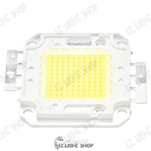 پلور ال ای دی 100 وات سفید معمولی 300x300 - پاور LED هفتاد وات 33 میلیمتر سفید معمولی(6500-6000 کلوین)
