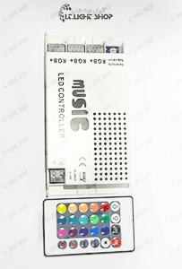 کنترلر RGB موزیکال 18 آمپر بدون ولوم
