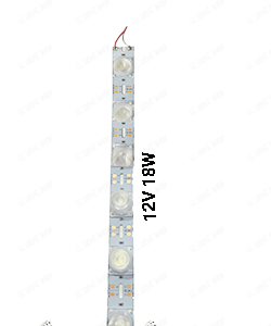 LED خطی 3030 سفید یخی یک متری 12 ولت 18 وات